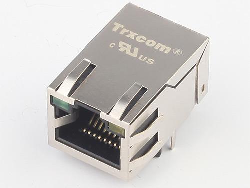 25.4MM 100/1000M 开口朝上 带灯带弹片